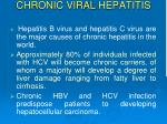 chronic v iral hepatitis1