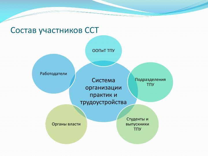 Состав участников ССТ
