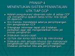 prinsip 4 menentukan sistem pemantauan utk tiap ccp
