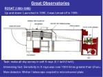 great observatories1