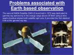 problems associated with earth based observation1
