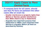 dq117 apply cases to penn central facts14