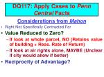 dq117 apply cases to penn central facts4