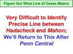 figure out what line of cases means8