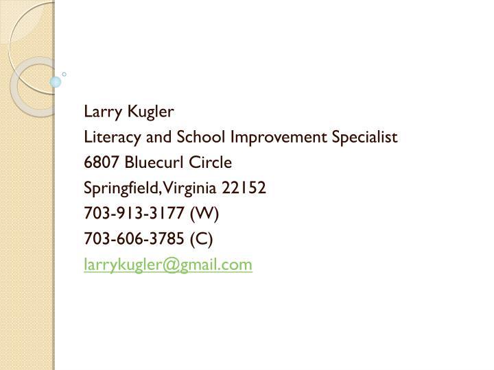 Larry Kugler