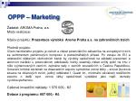 oppp marketing