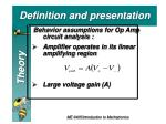 definition and presentation3