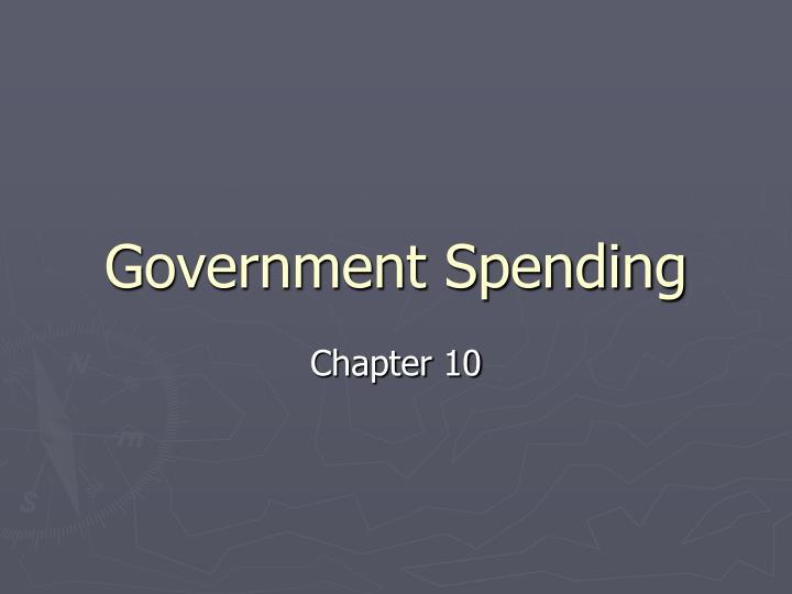government spending n.