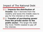 impact of the national debt
