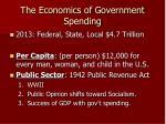the economics of government spending