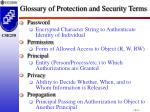 glossary of protection and security terms2