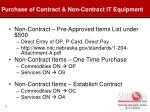 purchase of contract non contract it equipment1
