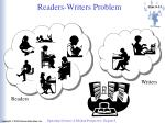 readers writers problem