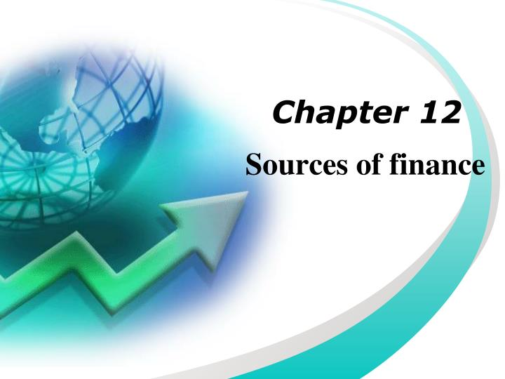 sources of finance n.