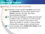 sources of finance6