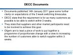 decc documents
