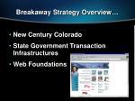 breakaway strategy overview