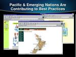 pacific emerging nations are contributing to best practices