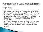 postoperative case management13