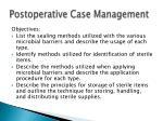 postoperative case management17