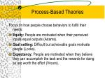 process based theories