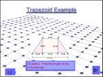 trapezoid example