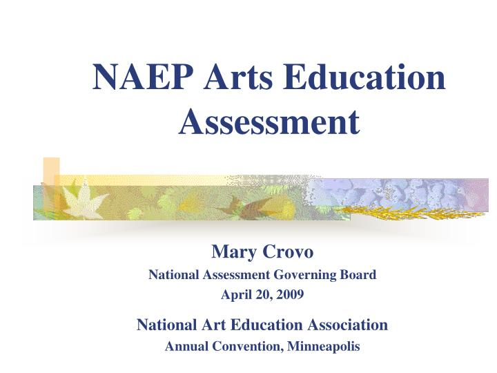 naep arts education assessment n.