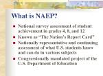 what is naep