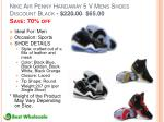 nike air penny hardaway 5 v mens shoes discount black 220 00 65 00 save 70 off
