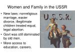 women and family in the ussr1