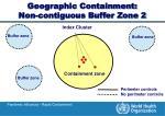 geographic containment non contiguous buffer zone 2