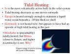 tidal heating