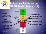 reference points on the naep scale scenario 1