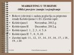 marketing u turizmu oblici provjere znanja i ocjenjivanje1