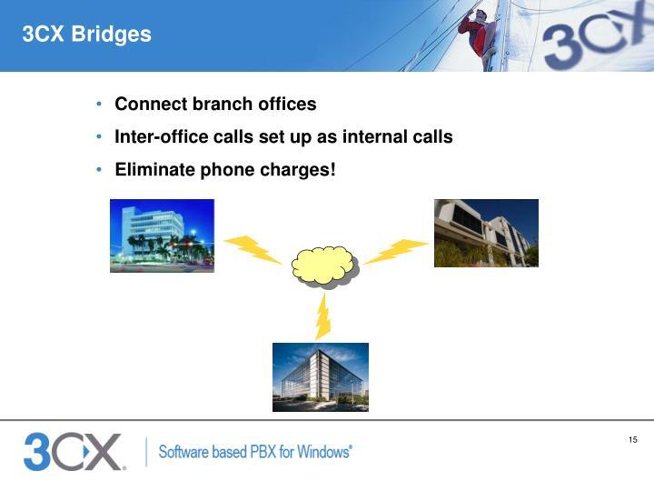 3CX Bridges