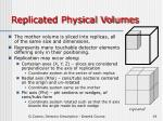 replicated physical volumes