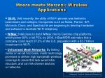 moore meets marconi wireless applications