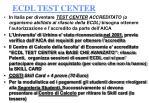 ecdl test center