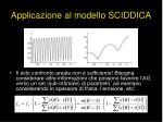 applicazione al modello sciddica5