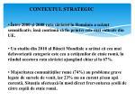 contextul strategic