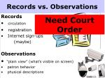records vs observations1