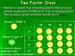 two factor cross