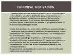 principal motivaci n