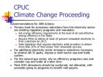 cpuc climate change proceeding1