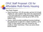 cpuc staff proposal csi for affordable multi family housing