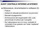 audit centrale interno all ateneo4