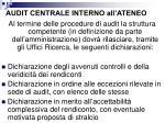 audit centrale interno all ateneo7
