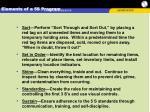 elements of a 5s program