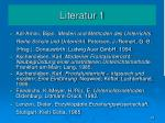 literatur 1