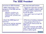 the ieee president